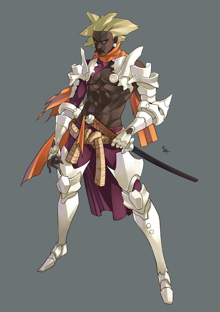 Knight From The Ivory Peak - Nabil by MizaelTengu