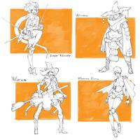 [SALE ADOPTION] Character Drafts #8 - open by MizaelTengu