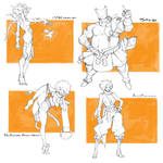 [SOLD] Character drafts #10 -