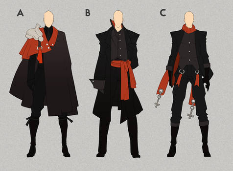 [SOLD] - Exorcist/Vampire - Outfit