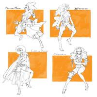 [SALE ADOPTION] Character Drafts #14 - Closed by MizaelTengu