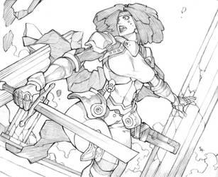 Sketch #12 by MizaelTengu