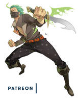 Patron's Character - March -  Caesar De Cordes by MizaelTengu
