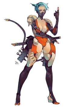 Cyber Ninja Kitty