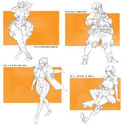 Character Drafts #34