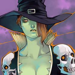 Noliene - The Witch Gunslinger