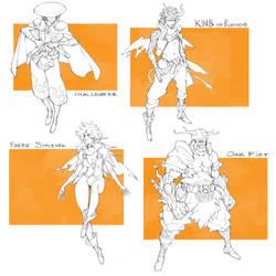 CHaracter Drafts #36