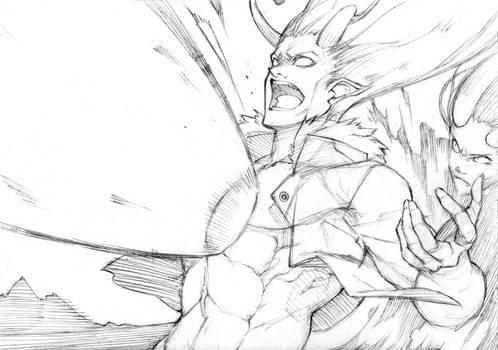 Sketch #26 - Betrayal