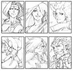 Six Characters Challenge - Draft