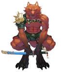 WereWolf Gladiator - Colors