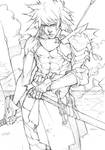 Sketch #33 - Young King Razha