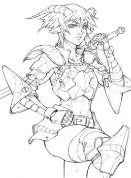 Sketch #35 - Demon Knight