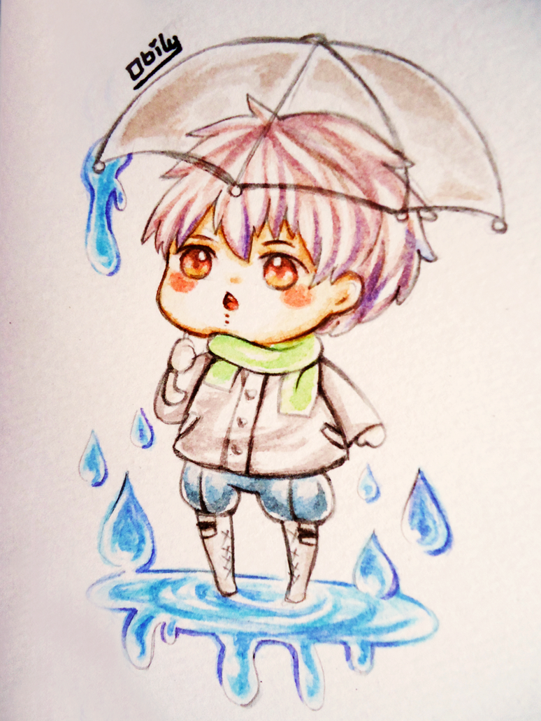 Rain ~ by obily95