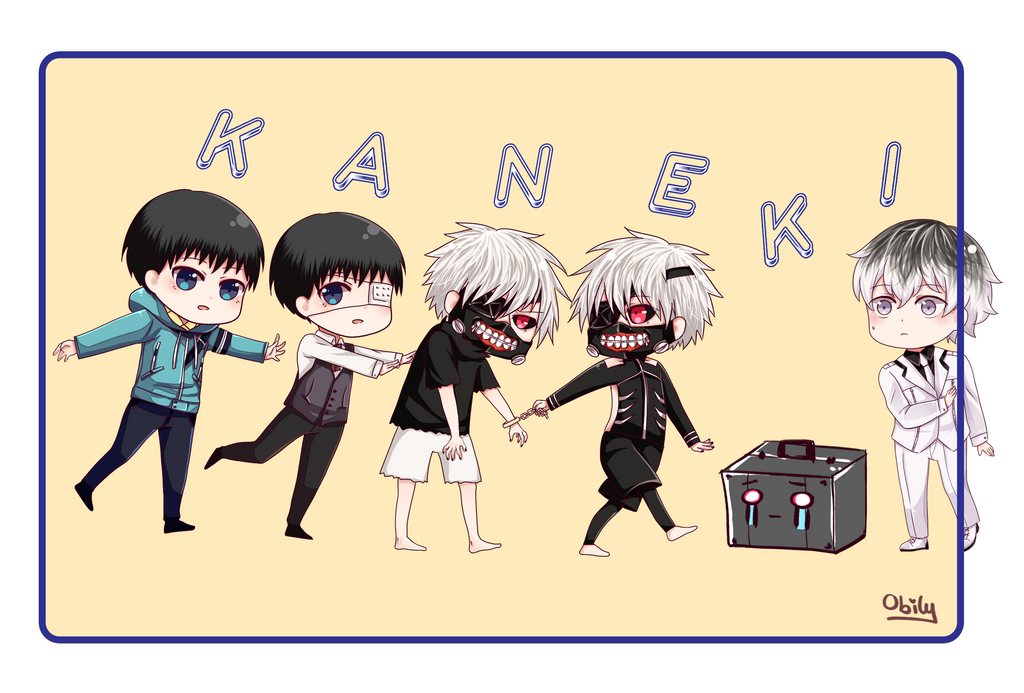 Haise is Kaneki by obily95