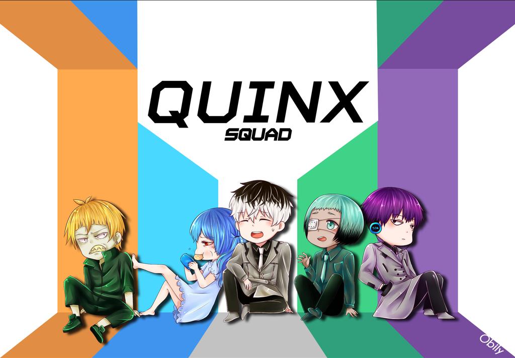 Quinx Squad by obily95
