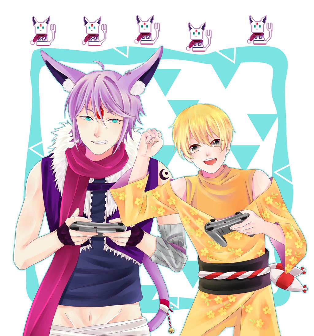 C :: Sei and Shun by obily95