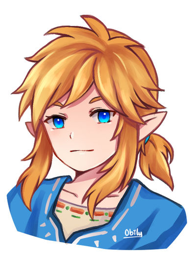 Botw Link By Obily On Deviantart
