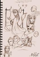 OMG - I draw ainme O_o by Thevakien