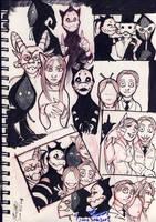 Ghostville sketch dump by Thevakien