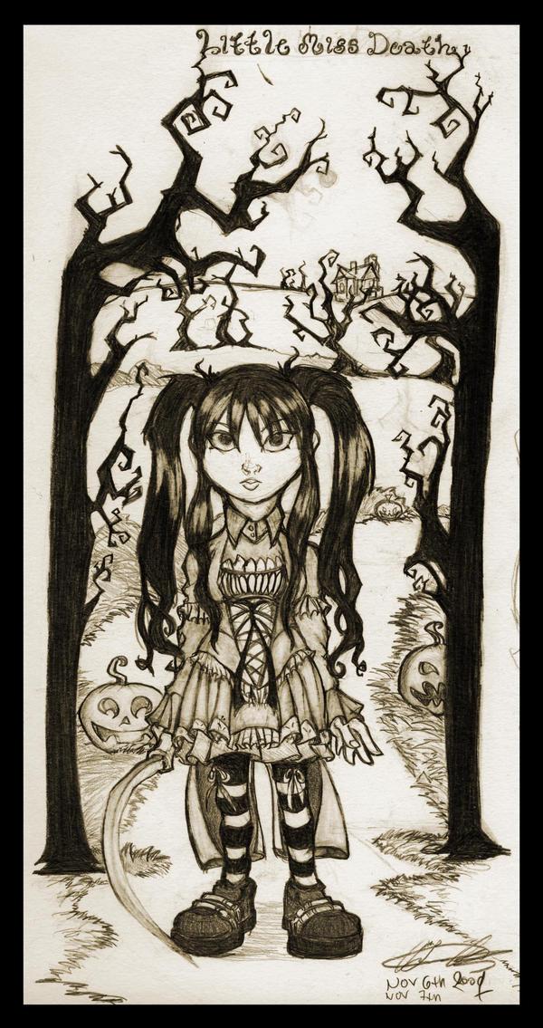Little Miss Death by Thevakien