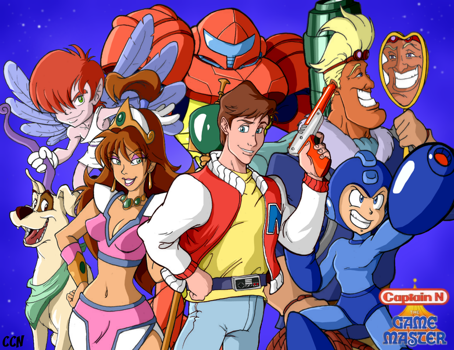Nos dessins animés d'enfance Captain_n__the_game_master_by_retro_ccn-d5iwluu
