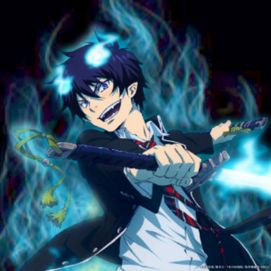blue exorcist wallpaperflameprincess02 on deviantart