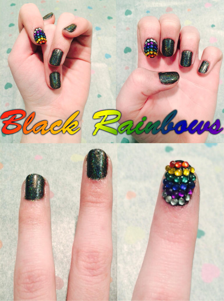 Black Rainbows by Flameprincess02