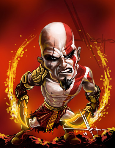 Kratos by Mecho