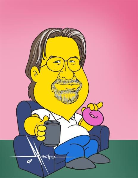 Matt Groening by Mecho