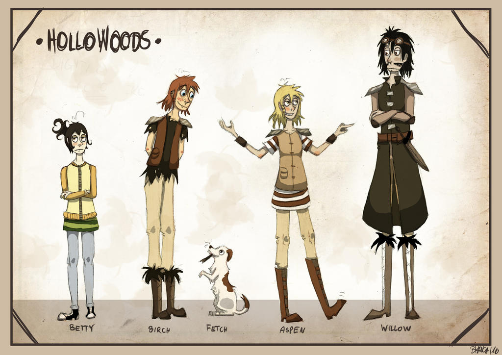 Hollwoods - Conceptsheet by InkyShade
