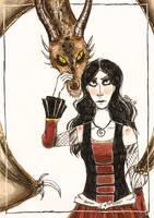 Dragon Whisperer by Inky-Shade