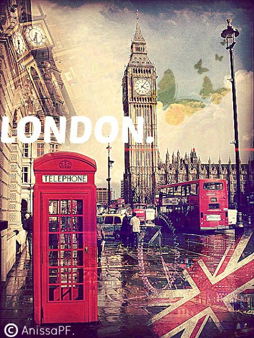 London wallpaper by rilakkumanissart on deviantart - Boutique vintage londres ...