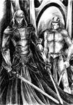Revan and Malak before the Trayus