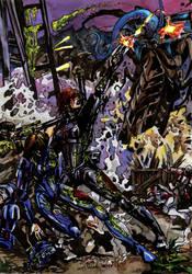 Mass Effect - Akuze by anne-wild