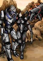 Mass Effect - Rannoch by anne-wild