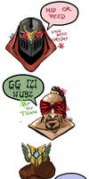 League of Cancer emojis by anne-wild