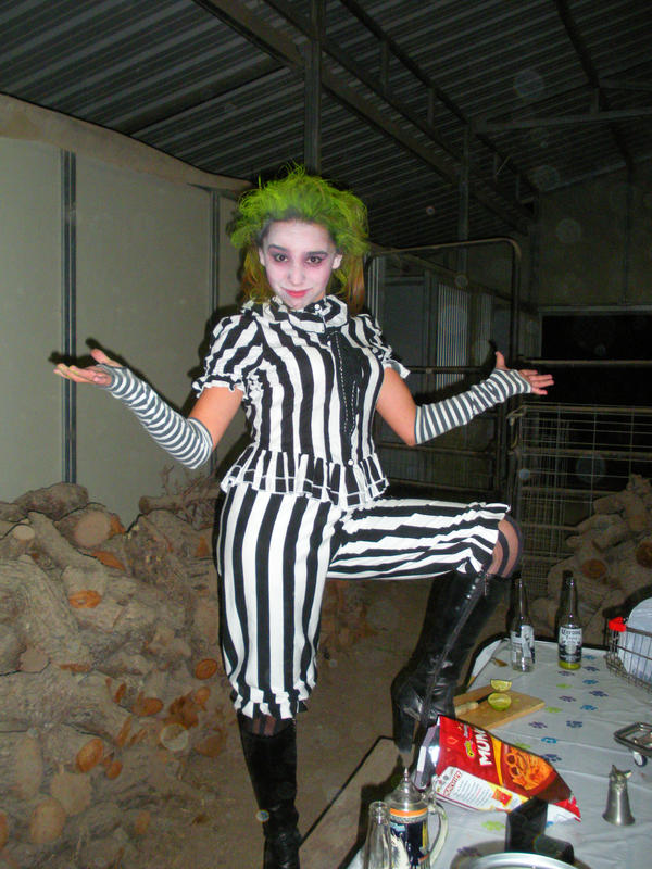 Girl Beetlejuice Costume By Lolicaor805 On Deviantart
