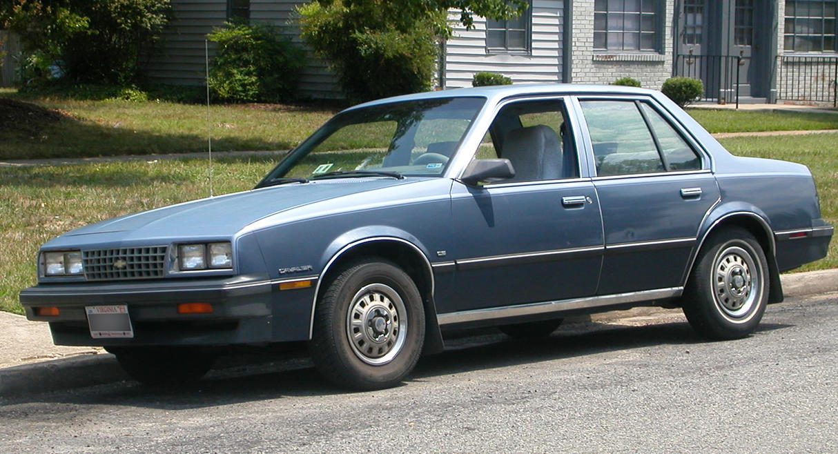1984 Chevy Cavalier 3/4 side view by Reyphotos on deviantART