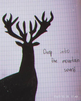 deep into the mountain sound