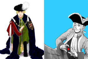 hetalia - those poofy hats by lackofsleep