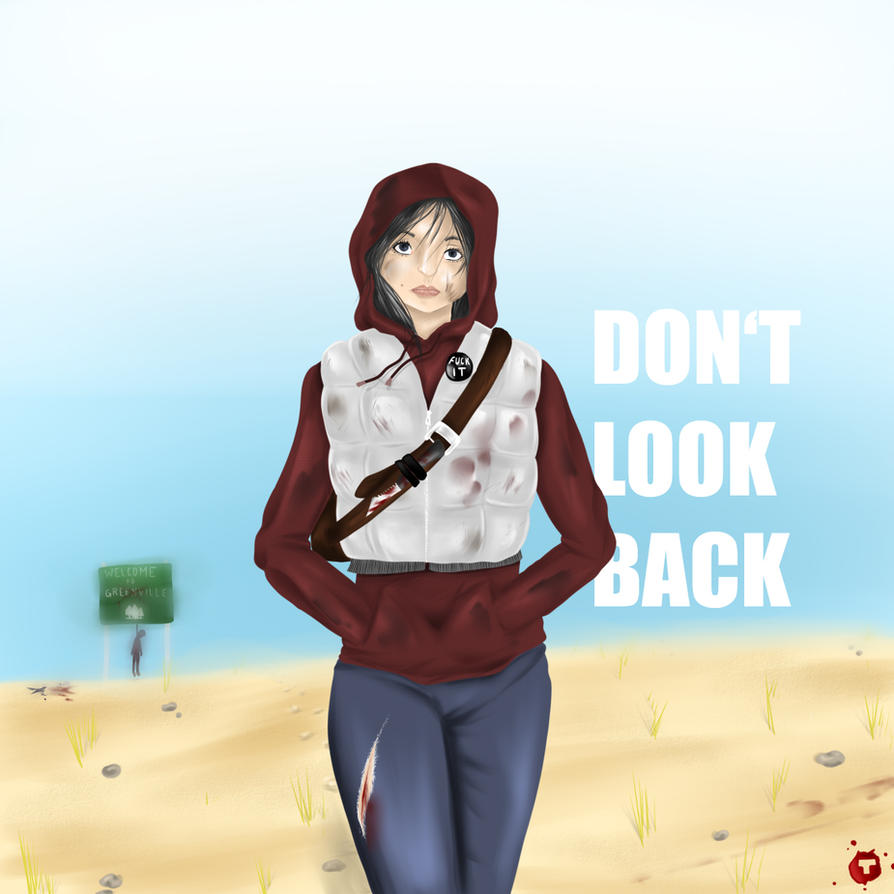 DON'T LOOK BACK by Takeru-Saaan