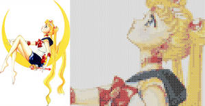 Sailor Moon - Cross Stitch Pattern