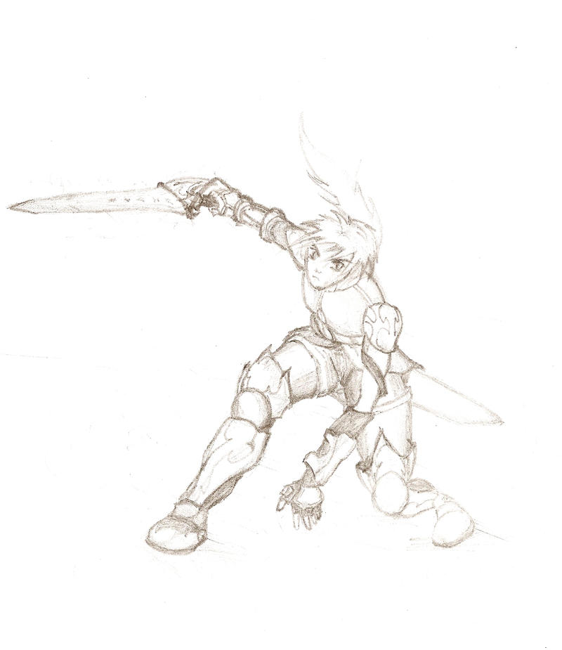 Anime Fighting Stance Cool fighting stance byAnime Sword Fighting Stance