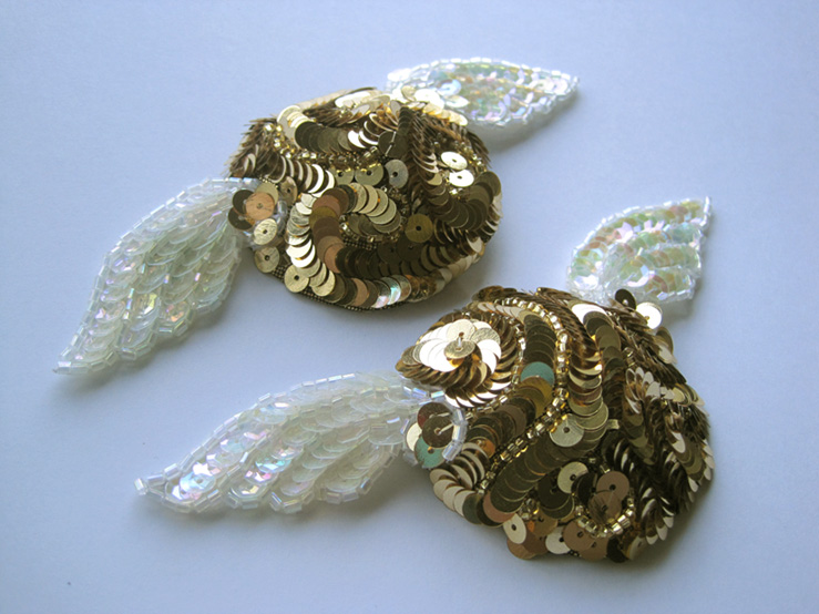 Golden Snitch Nipple Pasties by chibi-muse