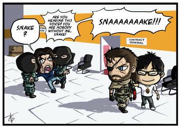 Metal Gear Solid V: The 'Hayter' Pain by Akatsuya