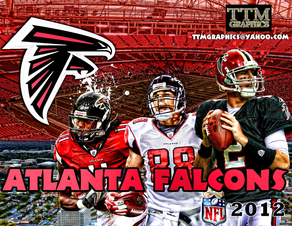 Atlanta Falcons Backgrounds Hq: Atlanta Falcons Remake Wallpaper By Tmarried On DeviantArt