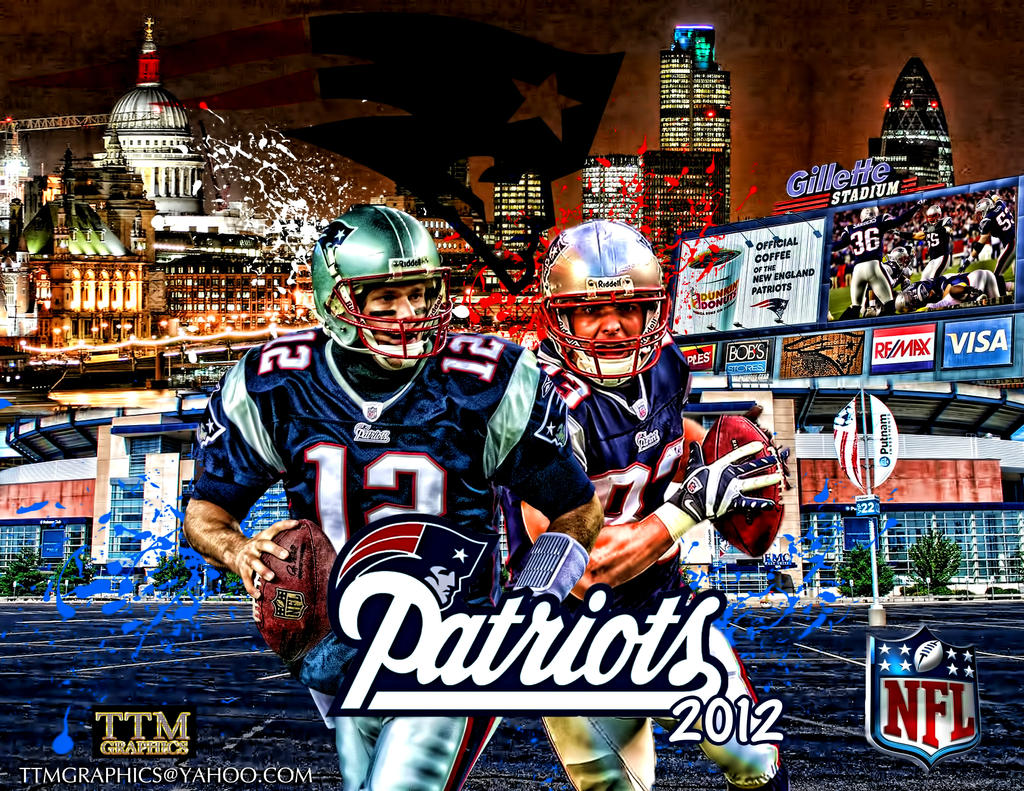 New England Patriots Wallpaper by tmarried