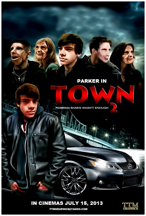 the town movie poster 2 by tmarried on deviantart