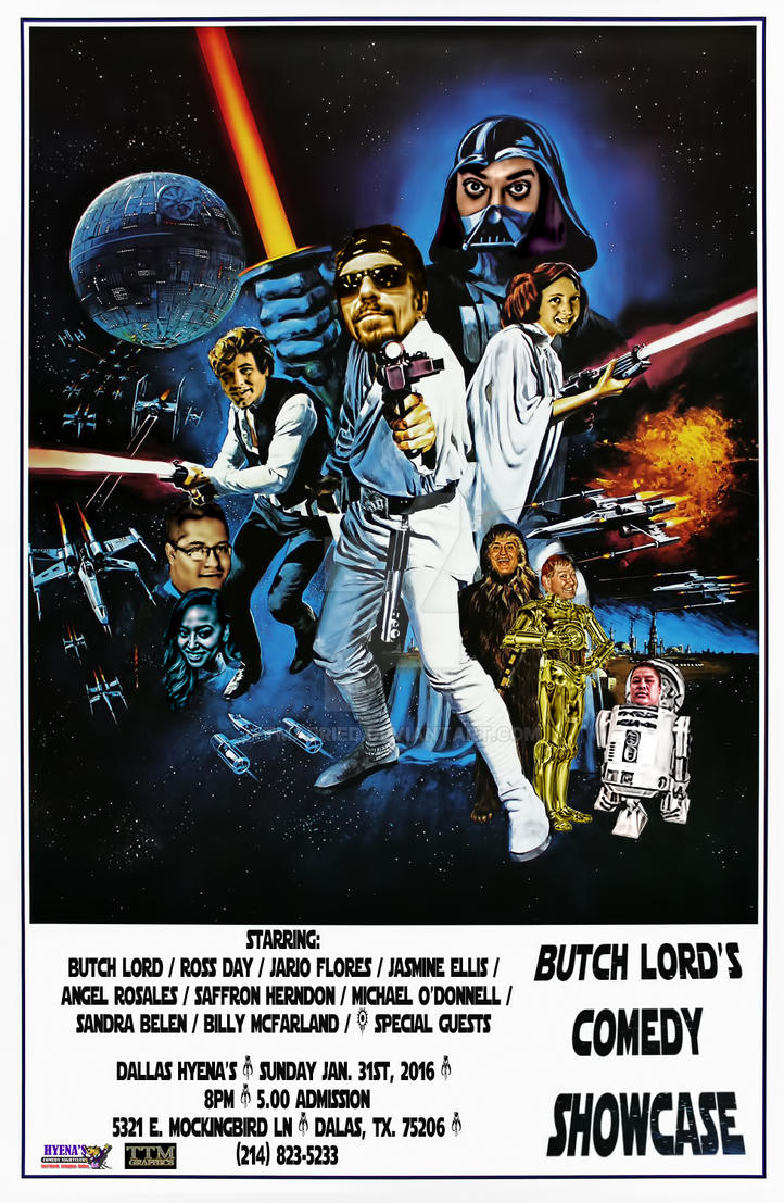 Butch Lord's Comedy Showcase (Star Wars) by tmarried