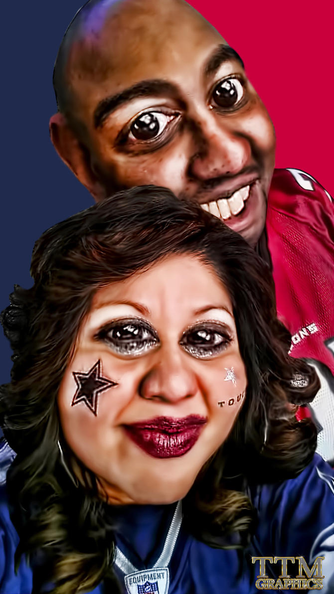 AFTER T AND T CARICATURE by tmarried